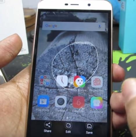 Cara screenshot android coolpad