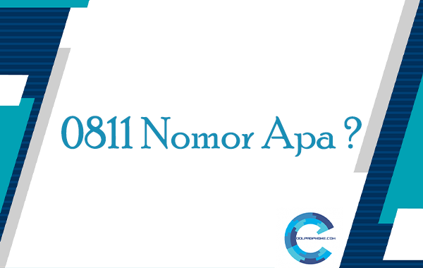 0811 Nomor Apa