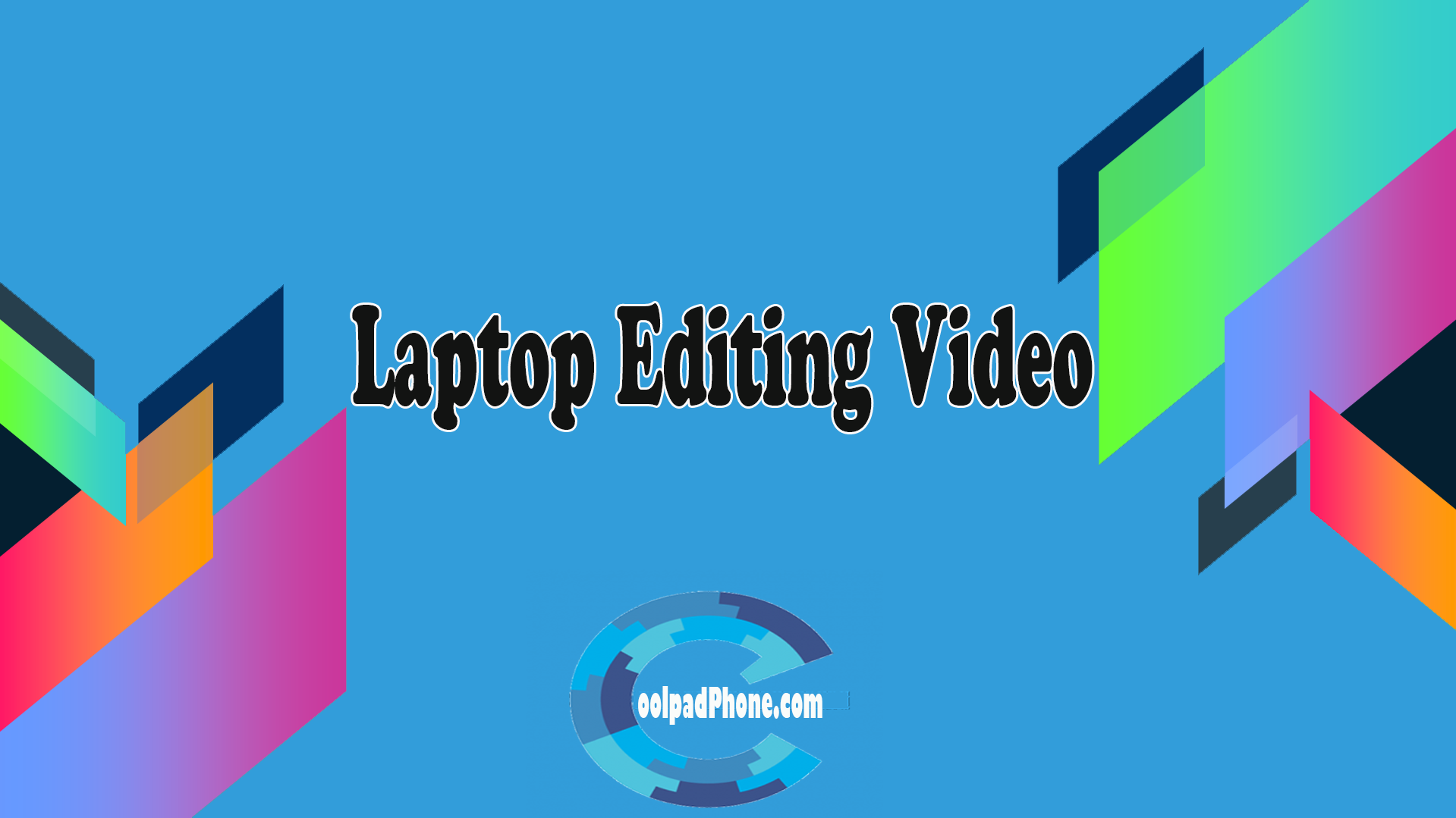 Laptop-Editing-Video