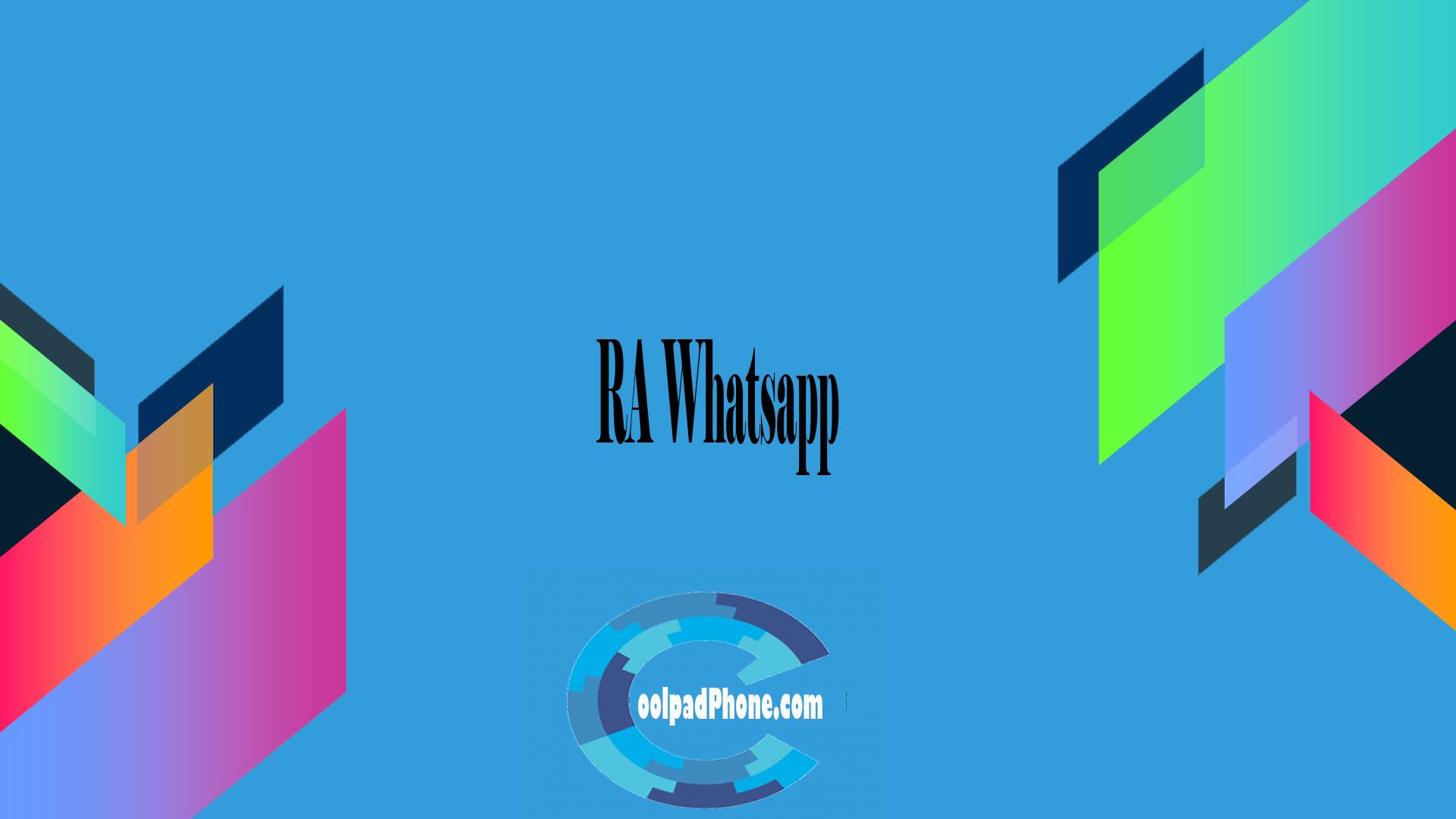 RA Whatsapp Terbaru