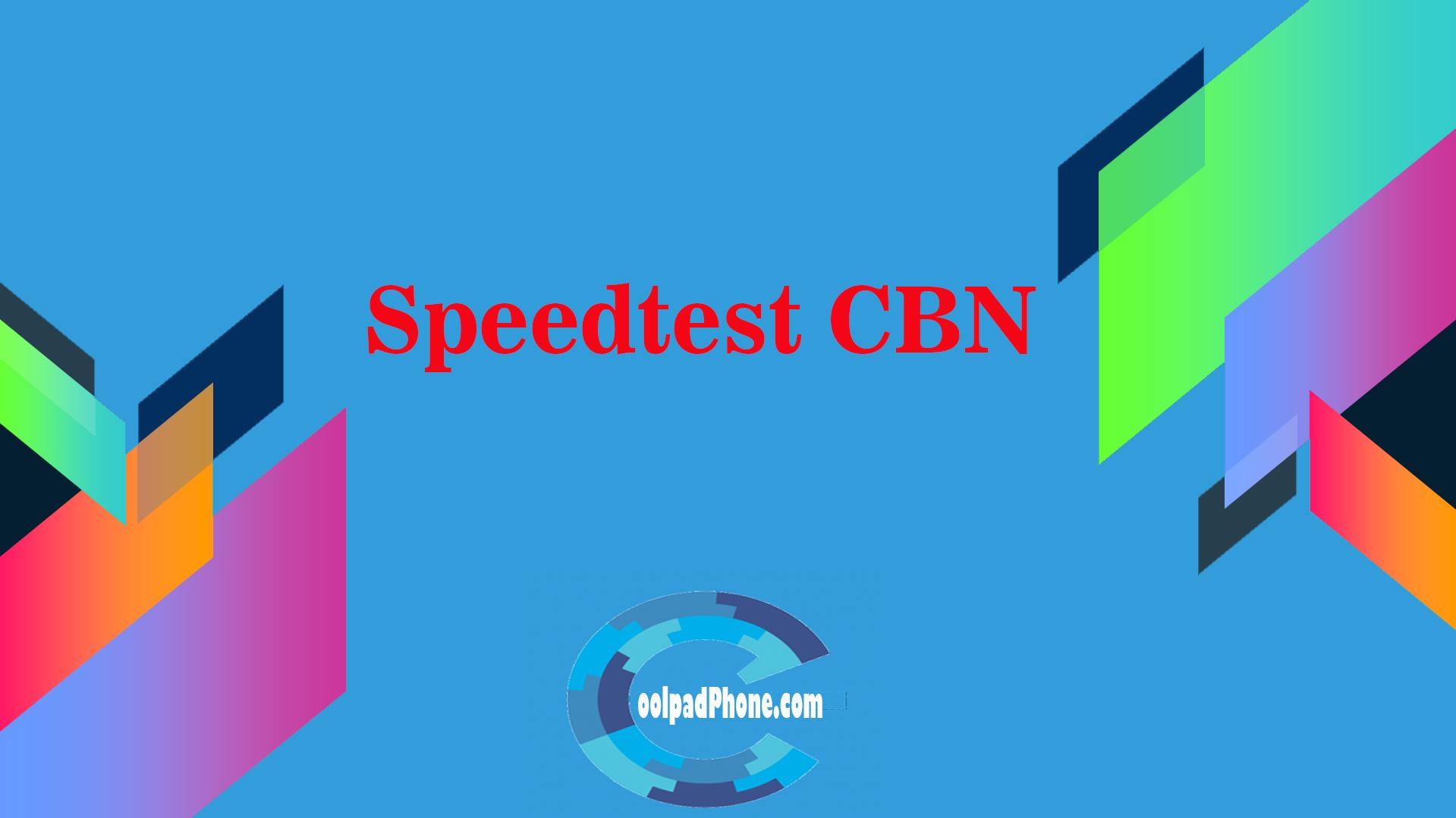 Speedtest CBN