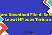 Cara Download File di Scribd Lewat HP 2021 Terbaru