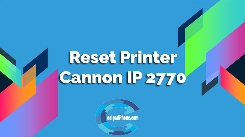 Cannon IP 2770